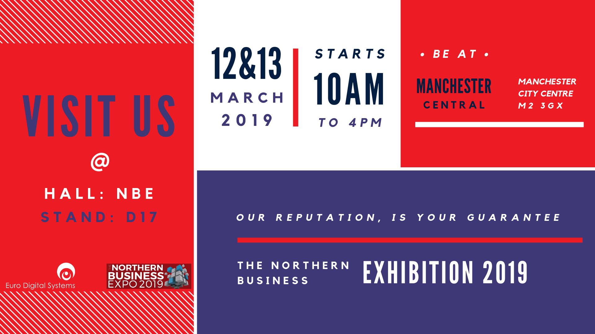 Euro Digital Systems At The Northern Business Expo 2019