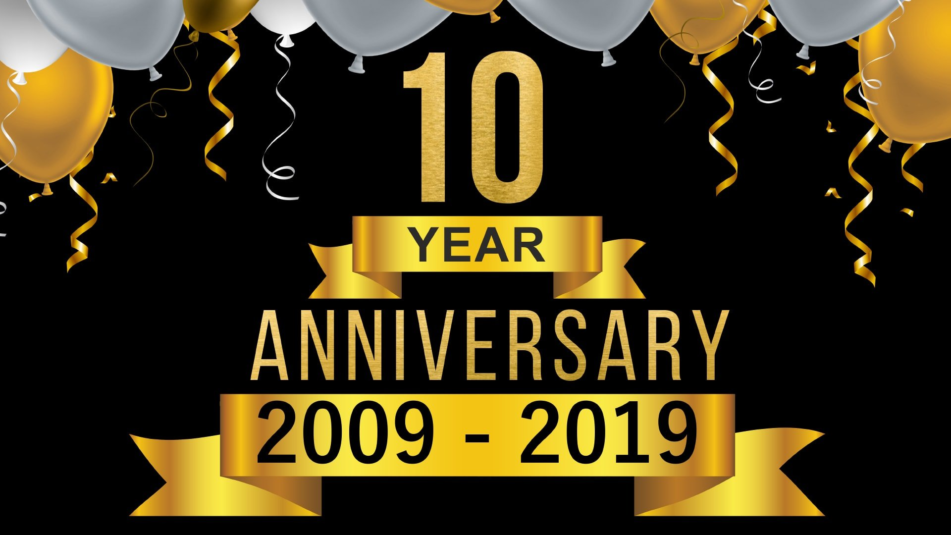 Celebrating 10 Years of Business