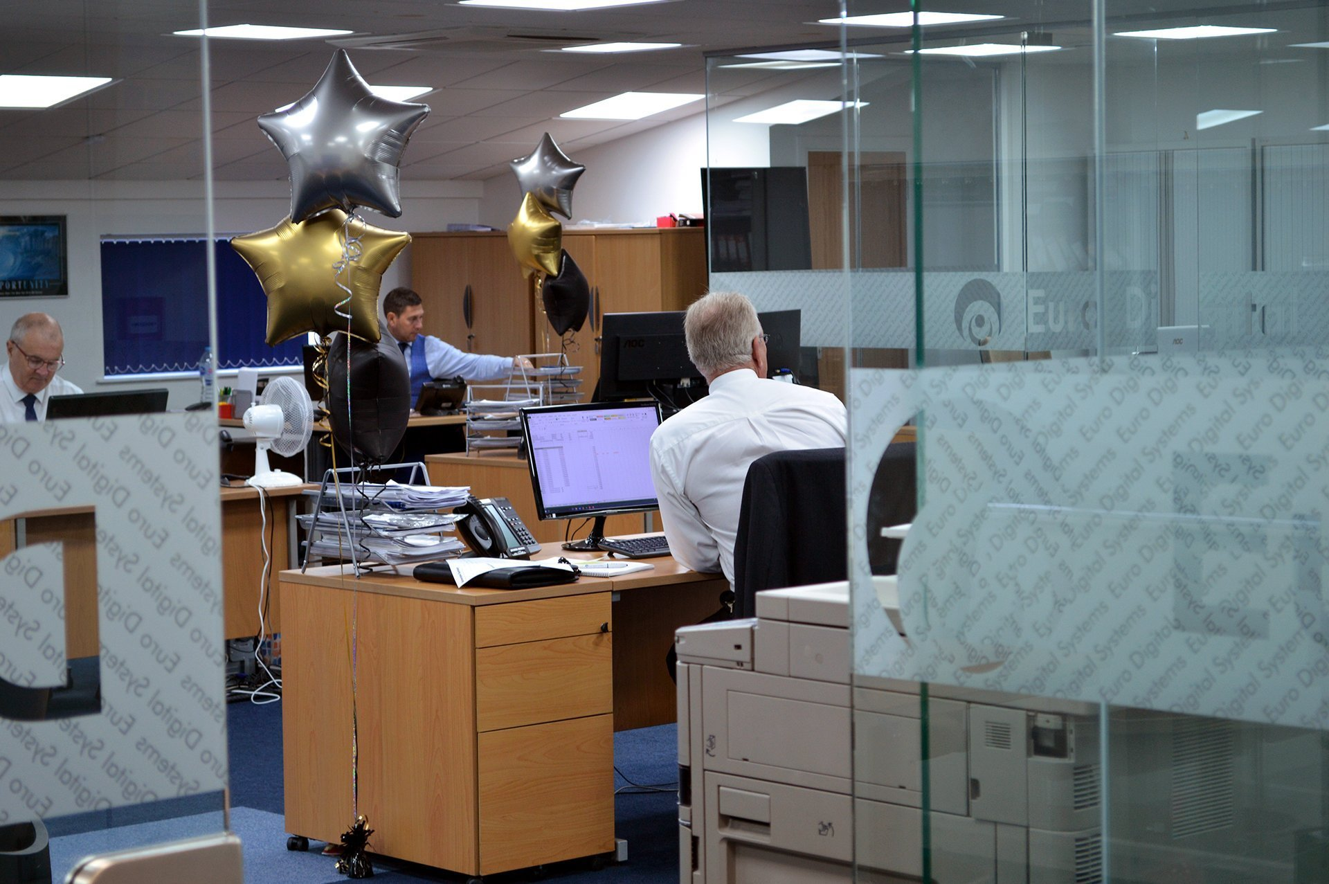 Sales Department @ Euro Digital Systems
