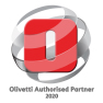 Official Olivetti Authorised Partner Logo 2020 EDSL